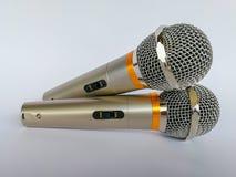 Microfoon, persconferentie, overeenkomstcentrum, toespraak, het samenkomen Royalty-vrije Stock Fotografie