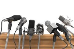microfoons Stock Afbeeldingen