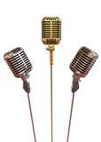 Microfoons Stock Afbeelding