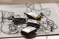 Microfoonzenders Royalty-vrije Stock Afbeeldingen