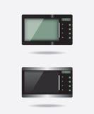 Microgolf elektronisch apparaat Stock Foto's