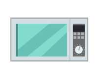 Microgolf Oven Isolated Kitchen Appliance Vector Stock Fotografie