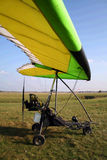 Microlight yellow Royalty Free Stock Photography