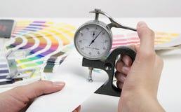 micromètre Photographie stock libre de droits