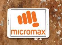 Micromax Informatics logo Stock Photography