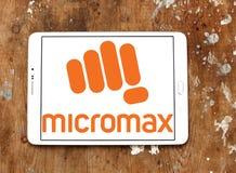 Micromax-Informatiklogo Stockfotografie
