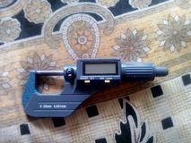 micrometro immagini stock