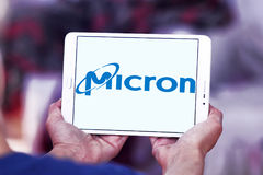 Micron Technology logo Royalty Free Stock Photos