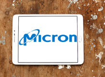 Micron Technology logo Stock Image
