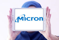Micron Technology logo Stock Photography