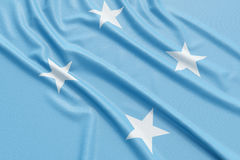 Micronesia flag Royalty Free Stock Image