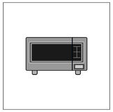 microonda Imagenes de archivo