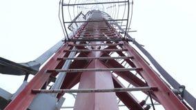 Microondas inalámbricas del antena de la telecomunicación de la difusión de la torre de comunicación metrajes