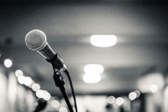 Microphone 1 Stock Photography