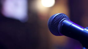 Microphone_1 stock footage