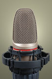 Microphone. High resolution image of old microphone royalty free stock image