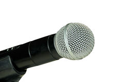 Microphone. Microphone on a white  background with path Stock Photography