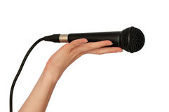 Free Microphone Royalty Free Stock Image - 13654726