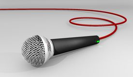 Microphone Illustration Stock