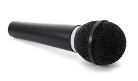 Microphone. Isolated on white background royalty free stock images