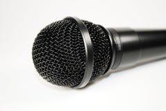 Microphone. Closeup of a vocal microphone Stock Photos