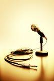 Microphone Images libres de droits