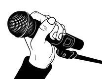 Microphone Royalty Free Stock Image