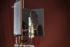 Microphone Photos libres de droits
