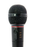 Microphone. On a white background Royalty Free Stock Photo