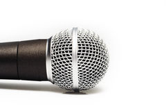 Microphone. Studio microphone for professional recording music Stock Images