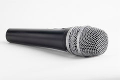 Microphone. A microphone on a white background Royalty Free Stock Photos