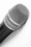 Microphone. A microphone on a white background. Good for cut it Royalty Free Stock Photos