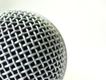 Microphone. Close up stock images