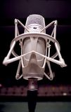 Microphone. On the stage - Music and sound stock photos