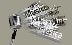 Microphone Image stock