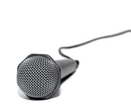 Microphone. Isolated on white background Royalty Free Stock Photo