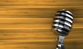 Microphone illustration stock