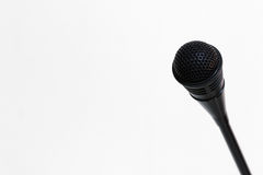 Microphone for announcements Stock Photos