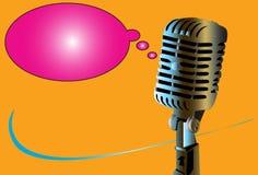 Microphone art Stock Photos