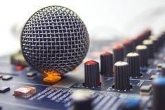 Microphone. Stock Image