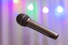 The microphone Royalty Free Stock Photos