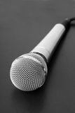 Microphone on black background Royalty Free Stock Photo