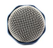 Microphone bud close-up isolated Royalty Free Stock Photos