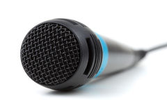 Microphone with cable Stock Photo