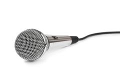 Microphone and cable Stock Photos