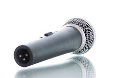 Microphone without cable isolated Stock Photos
