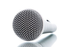 Microphone without cable isolated Royalty Free Stock Photography