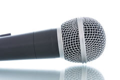 Microphone without cable  Stock Photo