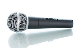 Microphone without cable  Stock Image