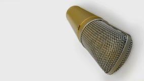 Microphone, chantant, ?v?nement, chanteur, projecteur photo libre de droits